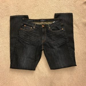 Lucky Brand 211 Original Straight Jeans. EUC